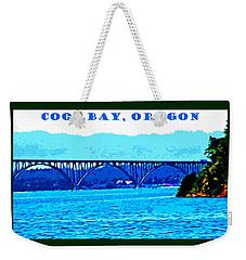 Coos Bay Oregon Weekender Tote Bag