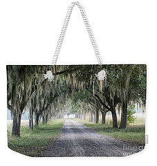 Coosaw Fog Avenue Of Oaks Weekender Tote Bag