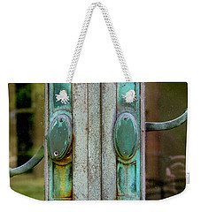 Copper Doorknobs Weekender Tote Bag