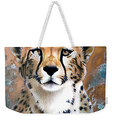 Copper Flash - Cheetah Weekender Tote Bag