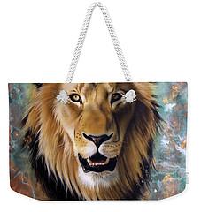 Copper Majesty - Lion Weekender Tote Bag
