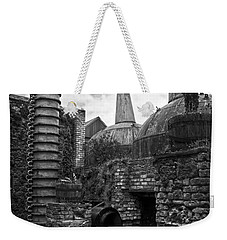 Copper Pot Stills And Column Still At Lockes Distillery Bw Weekender Tote Bag