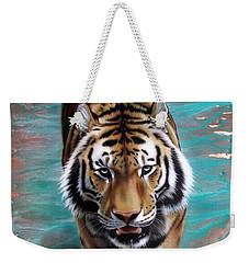 Copper Tiger 3 Weekender Tote Bag