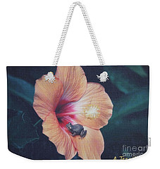 Weekender Tote Bag featuring the photograph Coqui  by The Art of Alice Terrill