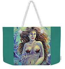 Coral Conductor Weekender Tote Bag by Gail Butler