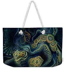 Coral Dive Weekender Tote Bag