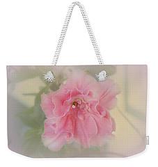Coral Weekender Tote Bag by Elaine Teague