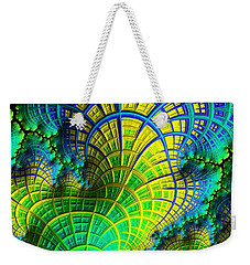 Coral Electric Weekender Tote Bag