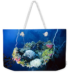 Corals On Ship Wreck Weekender Tote Bag