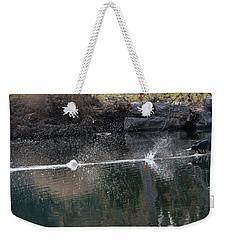 Cormorant Take-off Weekender Tote Bag