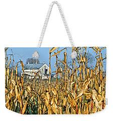 Corn Framed Barn Weekender Tote Bag