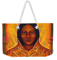 Corn Woman Weekender Tote Bag