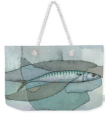 Cornish Mackerel Weekender Tote Bag