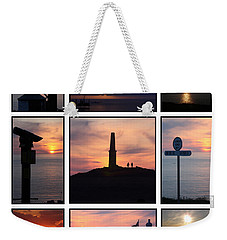 Weekender Tote Bag featuring the photograph Cornish Sunsets by Terri Waters