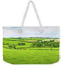 Cornwall Panorama Color Weekender Tote Bag