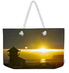 Coronado's Beach At Sunset Weekender Tote Bag by Claudia Ellis
