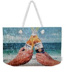 Coronas In The Rain Weekender Tote Bag