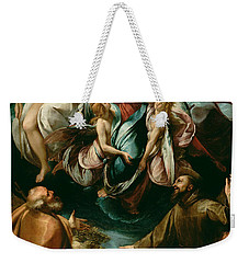 Coronation Of The Virgin With Saints Joseph And Francis Of Assisi Weekender Tote Bag