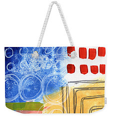 Corridor- Colorful Contemporary Abstract Painting Weekender Tote Bag