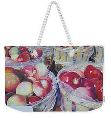 Cortland Apples Weekender Tote Bag