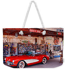 Corvette Drive Rt 66 Weekender Tote Bag