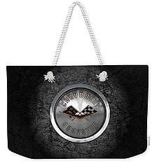 Corvette Emblem Weekender Tote Bag