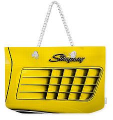 Corvette Gills Weekender Tote Bag