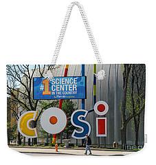 D7l-80 Cosi Columbus Photo Weekender Tote Bag