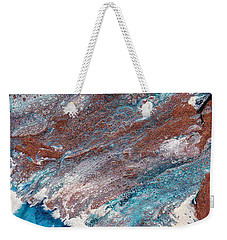 Cosmic Blend Three Weekender Tote Bag by M West
