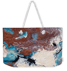 Cosmic Blend Two Weekender Tote Bag by M West