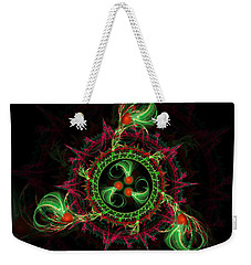 Cosmic Cherry Pie Weekender Tote Bag by Shawn Dall