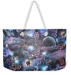 Cosmic Landscape Weekender Tote Bag