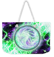 Cosmic Lifestream Weekender Tote Bag by Shawn Dall
