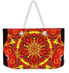 Cosmic Masculine Firestar Weekender Tote Bag