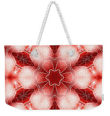 Cosmic Spiral Kaleidoscope 22 Weekender Tote Bag