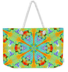 Cosmic Spiral Kaleidoscope 41 Weekender Tote Bag