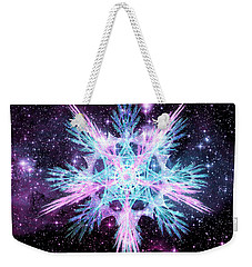 Cosmic Starflower Weekender Tote Bag by Shawn Dall