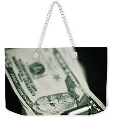Cost Of One Bullet Weekender Tote Bag