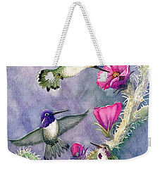 Costa Hummingbird Family Weekender Tote Bag