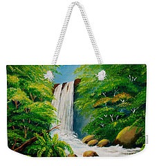 Costa Rica Waterfall Weekender Tote Bag
