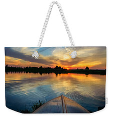 Cottage Country's Silhouette Weekender Tote Bag