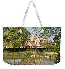 Cottage In The Hameau De La Reine Weekender Tote Bag by Jennifer Ancker