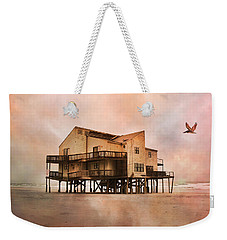 Cottage Of The Past Weekender Tote Bag by Betsy Knapp