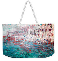 Cottages On The Bay  Weekender Tote Bag
