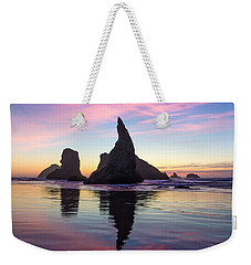 Cotton Candy At The Carnival Weekender Tote Bag by Patricia Davidson