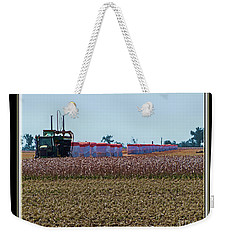 Cotton Harvest Weekender Tote Bag by Debbie Portwood