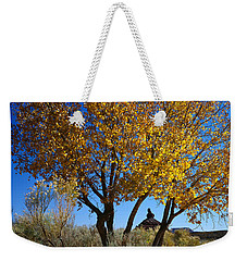 Cottonwood And Nipple Butte Weekender Tote Bag