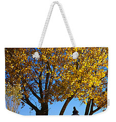 Cottonwood And Nipple Butte-v Weekender Tote Bag