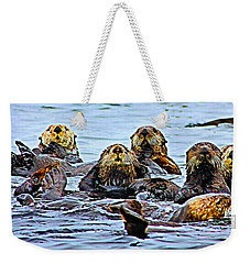 Couch Critters Weekender Tote Bag by Kristin Elmquist
