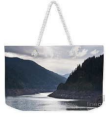 Cougar Reservoir Weekender Tote Bag by Belinda Greb
